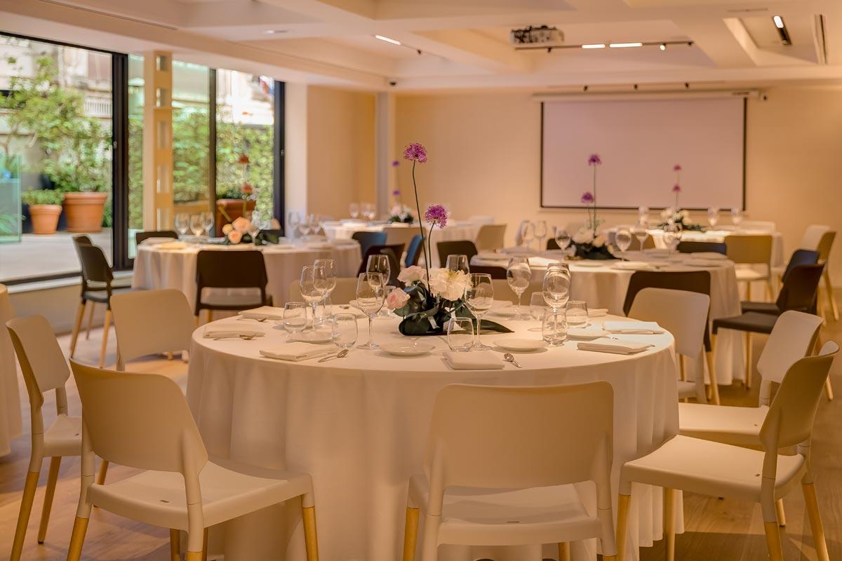 Xerta Restaruant - sala de comida y cena de grupos en Barcelona