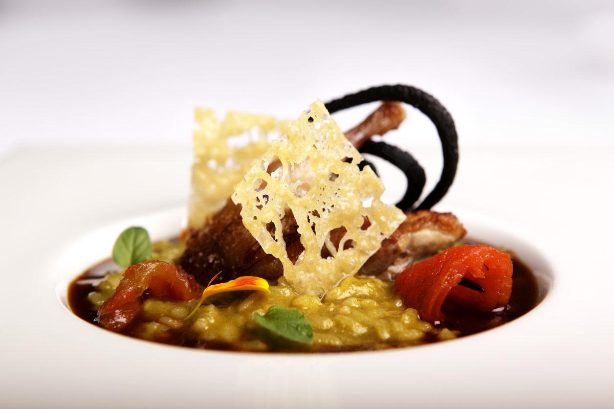 Restaurante Villa Retiro arroz del Ebre cocina de temporada chef Fran López.