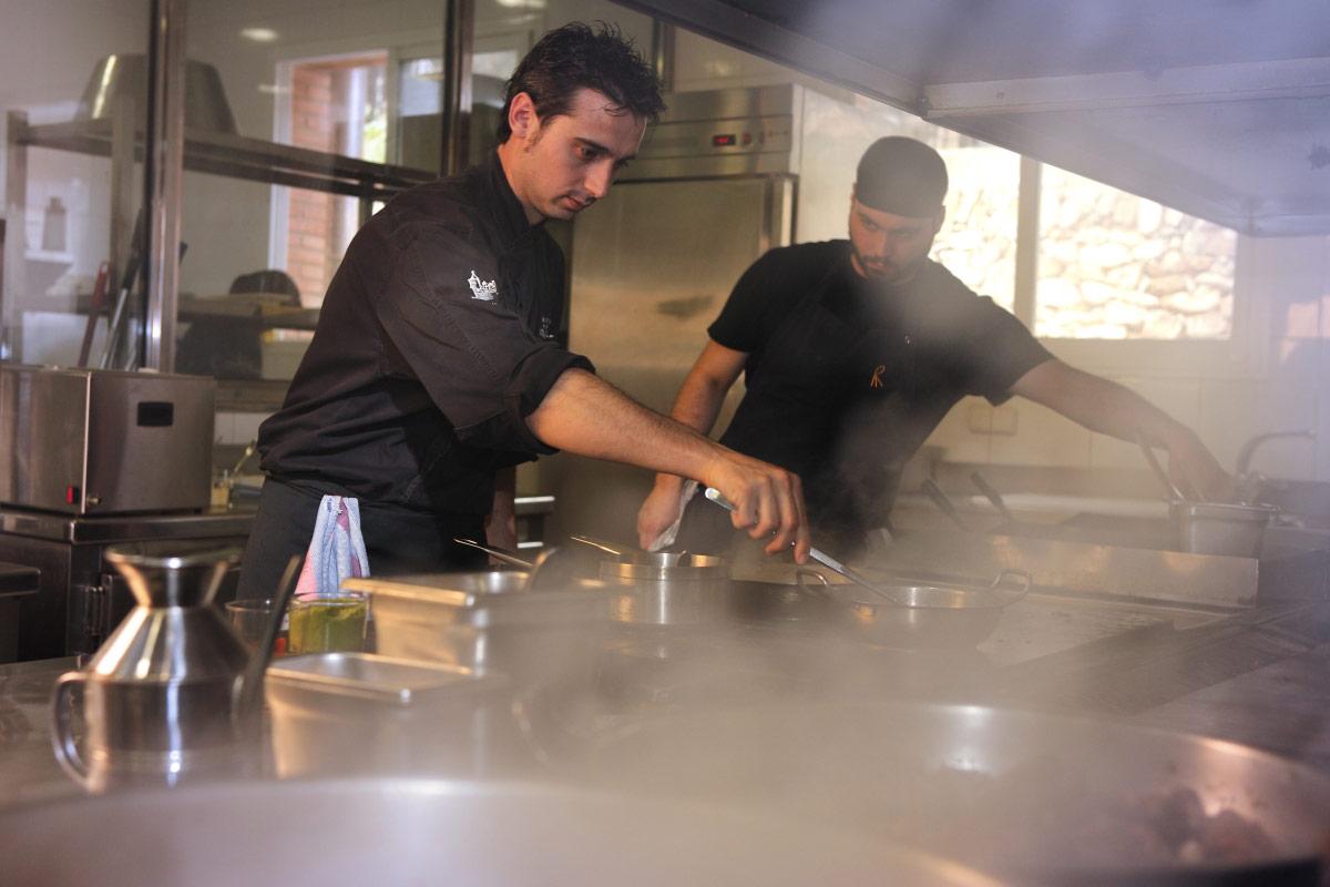 Restaurante Villa Retiro chef Fran López cocina estrella michelin
