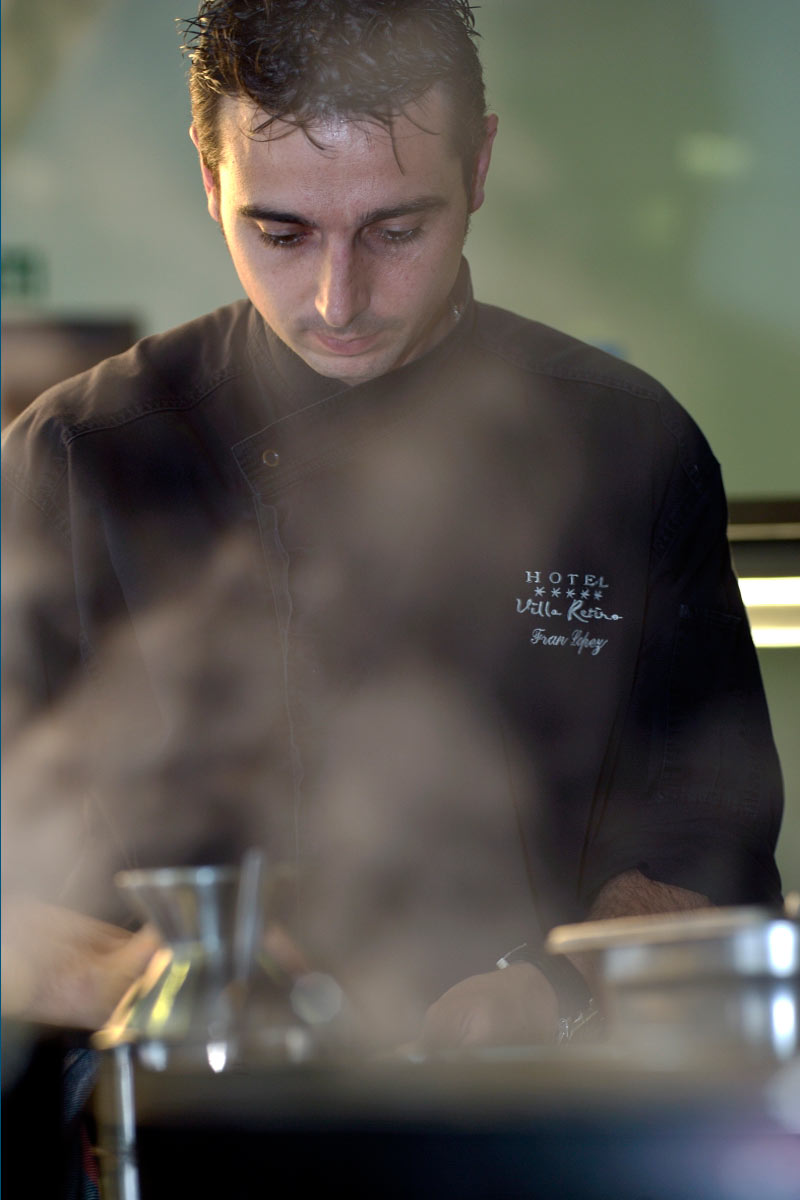 Xerta Restaurant Restaurante Villa Retiro cocina cuina chef Fran López Estrella Michelin Terres de l'Ebre Xerta