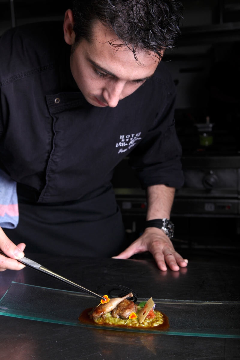 Restaurante Villa Retiro Chef Fran López Estrella Michelin Terres de l'Ebre Xerta.