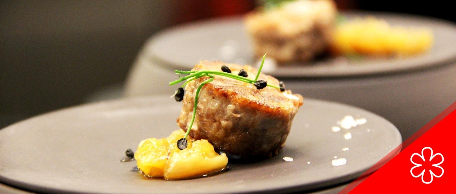 Xerta Restaurant Barcelona Estrella Michelin cuina d'autor de l'Ebre