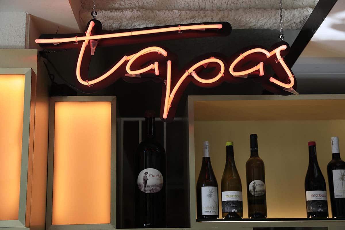 carta de vins - Xerta Tapas Bar