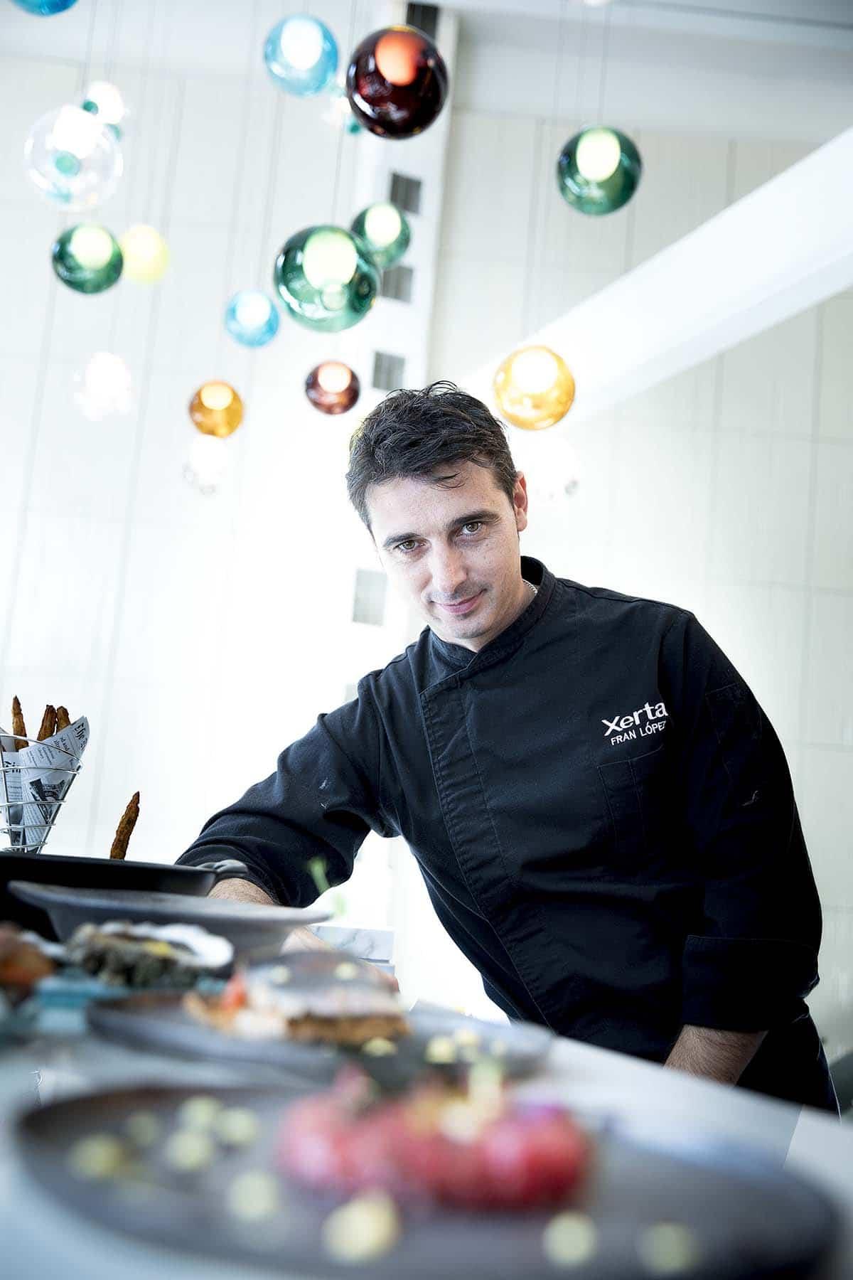 chef Fran López Gilabert - Xerta Tapas Bar
