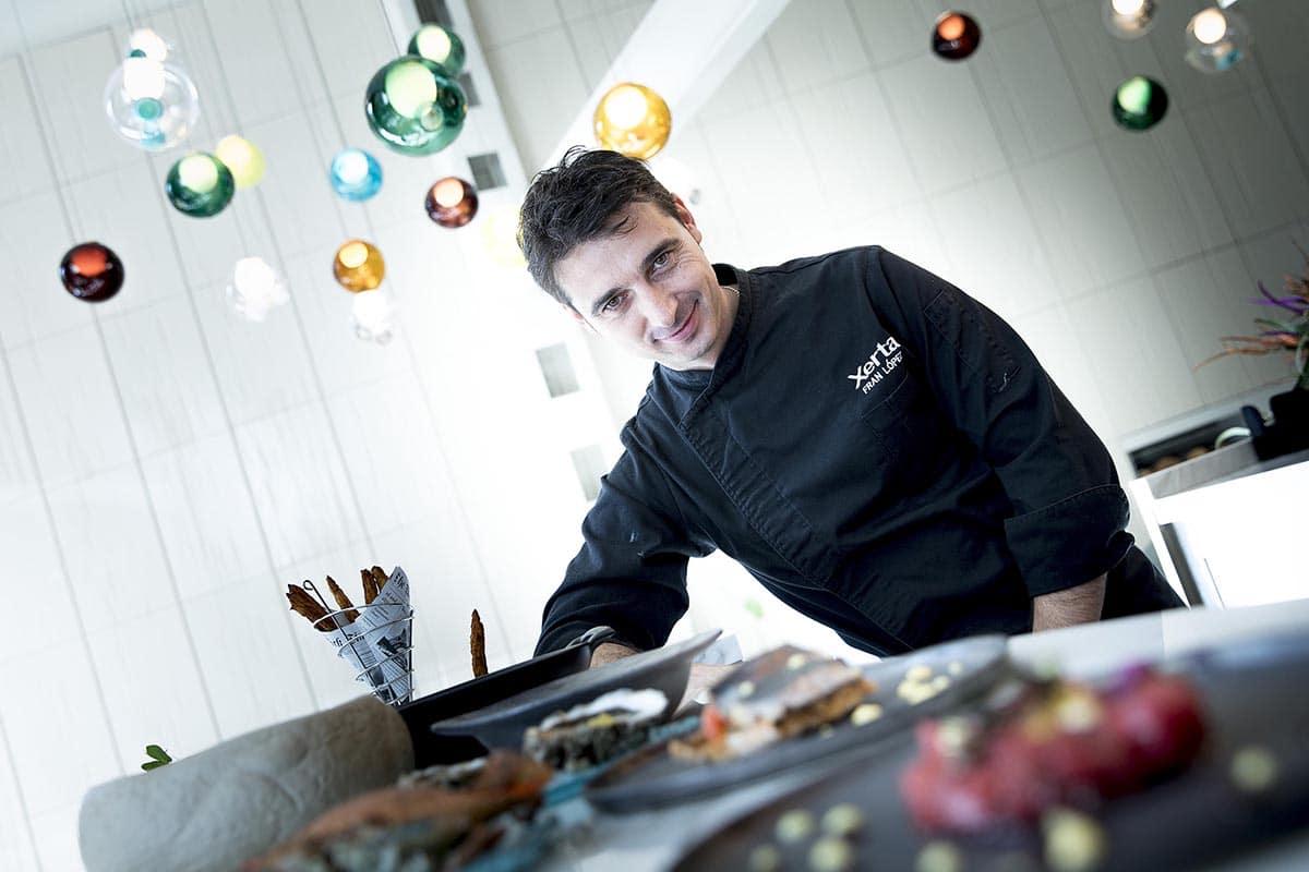 chef Fran López - Xerta Tapas Bar