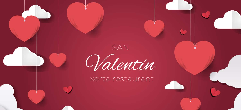 San Valentín en Xerta Restaurant