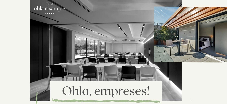Oferta Hotel Ohla Eixample y Xerta Restaurant